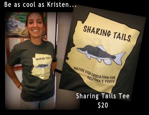 Sharing Tails tee